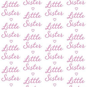 medium little-sister-with-heart bright pink