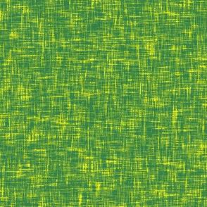 Grass green + buttercup yellow linen weave by Su_G