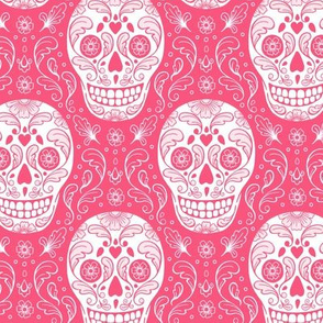 Calavera Sugar Skulls - pink