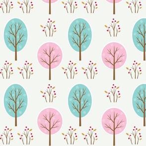 Woodland Winter - Trees