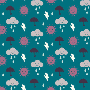 Happy Weather teal