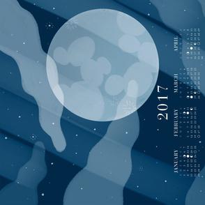 2017 Lunar Phases Calendar