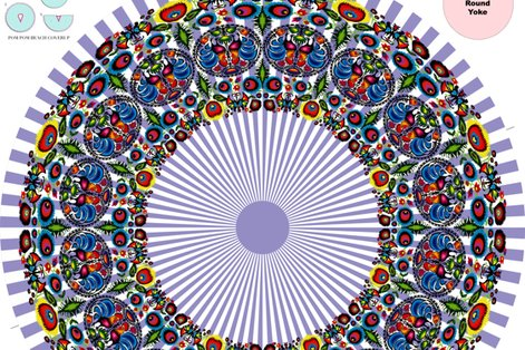 Rwycinanka_003_blue_stripes_cover-up_poncho_shop_preview