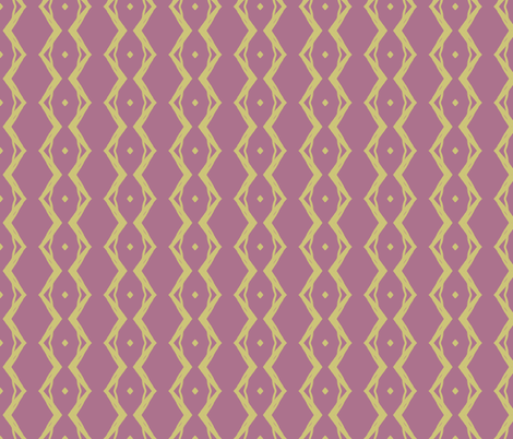 Grapevine Large (Plum & Gold) fabric by belovedsycamore on Spoonflower - custom fabric