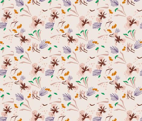 seville_garden_light fabric by holli_zollinger on Spoonflower - custom fabric
