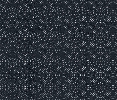 seville_quilt_dark fabric by holli_zollinger on Spoonflower - custom fabric