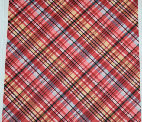 Mainly Red and Yellow Madras Plaid