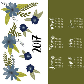 2017 Tea Towel Calendar