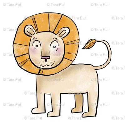 Kind Little Lion