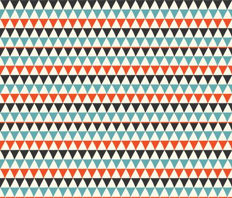 Mid-Century Modern  Konawood - ModAngle-04 fabric by diane555 on Spoonflower - custom fabric
