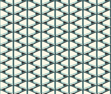 Mid-Century Modern  Konawood - Back And Forth fabric by diane555 on Spoonflower - custom fabric