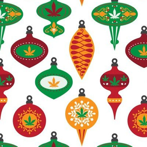 CANNABIS LEAF ORNAMENTS