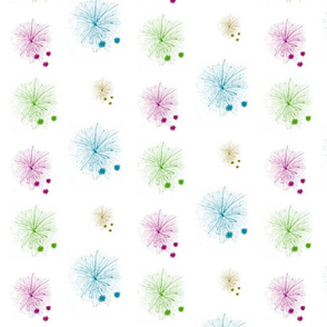 dandelion puffs MEDIUM- garden