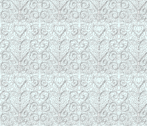 Heart_Lace fabric by ambrosiacottage on Spoonflower - custom fabric