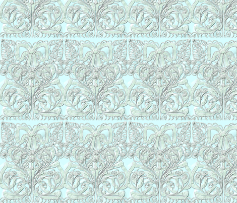 Silver_Chase fabric by ambrosiacottage on Spoonflower - custom fabric