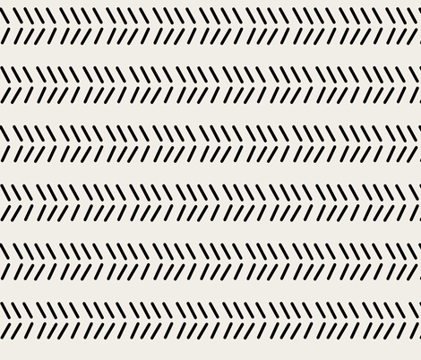 Mudcloth_3 - Inverted fabric by kelly_korver on Spoonflower - custom fabric