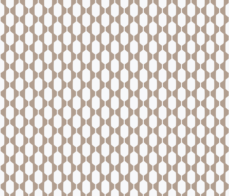 Mid-Century Modern  Konawood - Wobble fabric by diane555 on Spoonflower - custom fabric