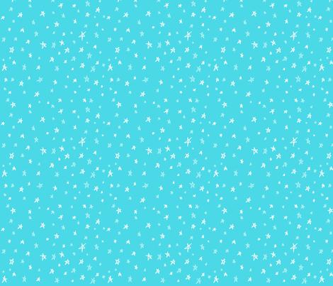 Neverland Sky (blue) fabric by majoranthegeek on Spoonflower - custom fabric
