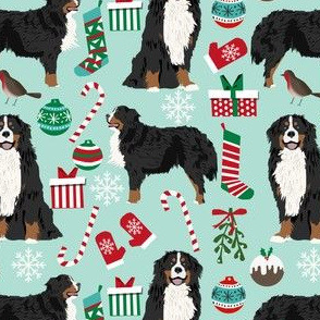 bernese mountain dogs christmas fabric cute dog xmas holiday christmas fabrics xmas holiday christmas fabrics