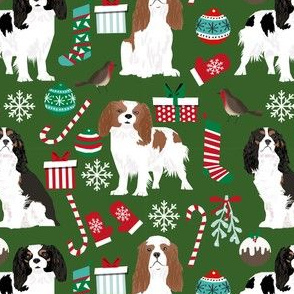 cavalier king charles spaniel christmas fabrics cute dog fabric king charles spaniels dog fabrics