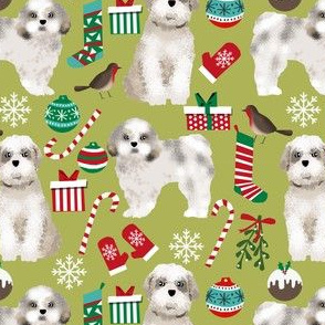 shih tzu christmas fabrics cute xmas holiday design christmas dogs fabric shih tzu fabrics