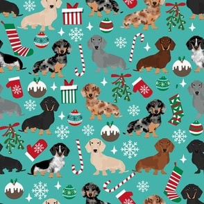 doxie christmas fabrics cute dachshunds fabric best dachshunds fabric