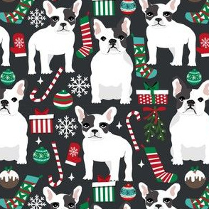 french bulldogs xmas christmas fabrics dogs dog fabric christmas fabrics dog breed fabric