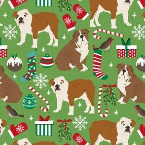 english bulldog christmas fabrics dog xmas english bulldogs fabrics english xmas dog breed fabric