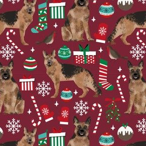 german shepherds dogs christmas fabric xmas dogs fabric christmas fabrics german shepherds dog fabric