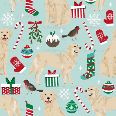 golden retrievers christmas fabrics xmas dog christmas fabrics dog fabric