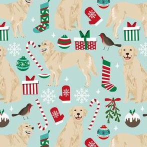 golden retrievers christmas fabrics xmas dog christmas fabrics dog fabric