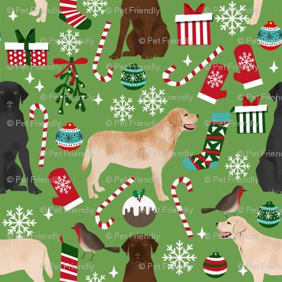 labrador christmas fabric cute dog fabrics labradors retrievers dogs fabric