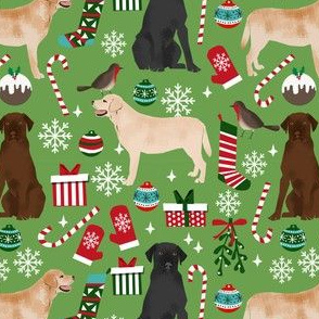 labrador christmas fabric cute dog fabrics labradors retrievers dogs fabric
