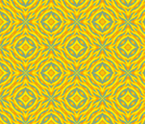 Busy Dizzy 14 fabric by anneostroff on Spoonflower - custom fabric