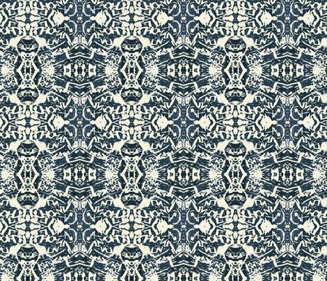 paris_tree_graffiti fabric by lfntextiles on Spoonflower - custom fabric