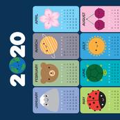 2020 Happy Nature Calendar