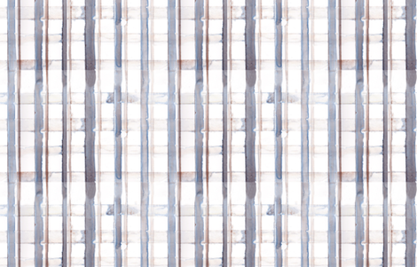 blue grey plaid pattern fabric by ochrenest on Spoonflower - custom fabric