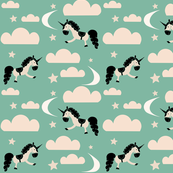 unicorn_clouds_green