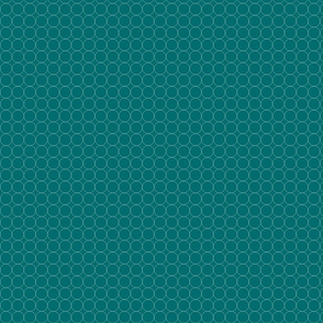 Circles on Teal