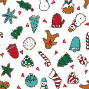 christmas cookies // christmas baking cute christmas designs food baking kids holiday fabrics xmas fabric andrea lauren fabric