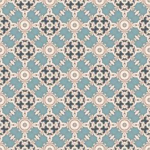 Victorian lattice lace