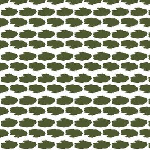 Amphibious Assault Vehicle in a camo green offset pattern