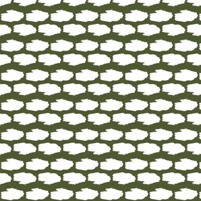 Amphibious Assault Vehicle in a camo green and white offset pattern
