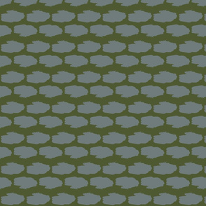 Amphibious Assault Vehicle in a camo green and gray offset pattern
