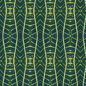 Yellow Tracks - Vertical