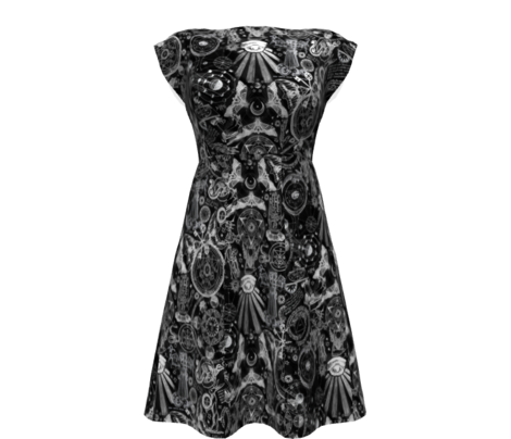 Black & White Haunted Occult