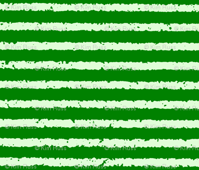 Lullaby Stripes in  Green