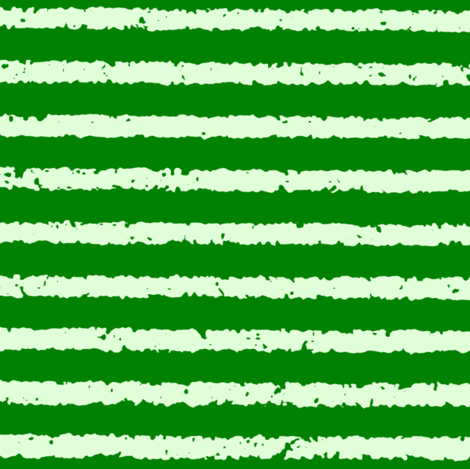 Lullaby Stripes in  Green fabric by kimruss@thatcatart on Spoonflower - custom fabric