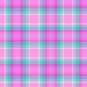 Paradise Punch Plaid