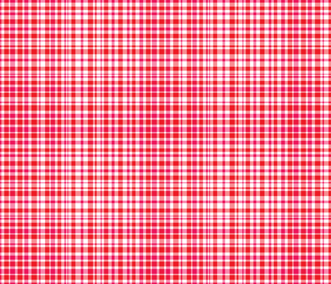 Peppermint Plaid fabric by argenti on Spoonflower - custom fabric
